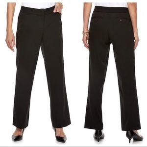 🌴3/$20 Dana Buchman Midrise Curvy Fit Dress Pants